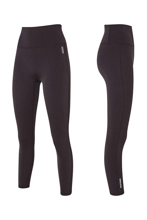韩际新世界网上免税店-SKULLPIG-运动休闲-[SA5268] PLAX LEGGINGS Purple Brown_S 紧身裤
