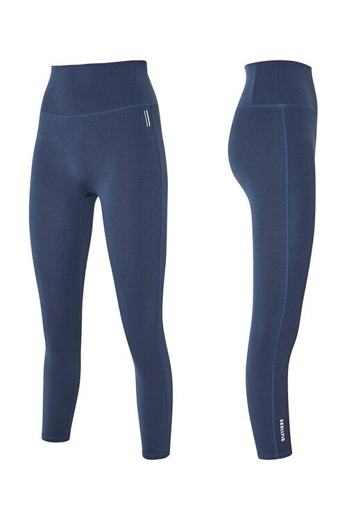 韩际新世界网上免税店-SKULLPIG-运动休闲-[SA5266]  PLAX LEGGINGS Soie Blue_S 紧身裤