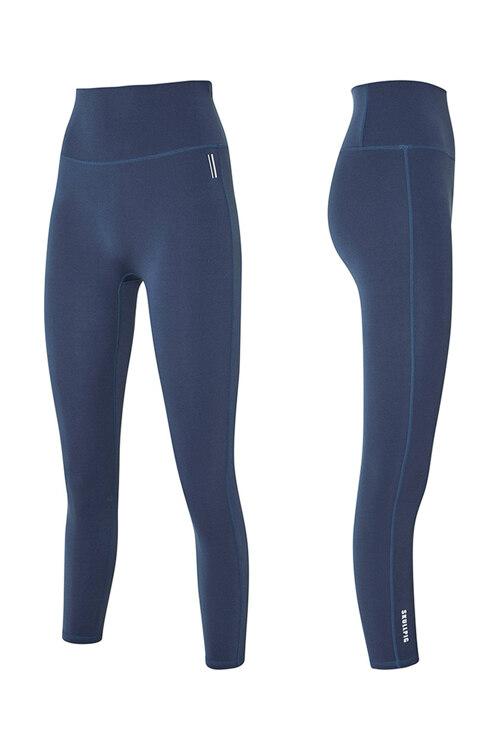 韩际新世界网上免税店-SKULLPIG-运动休闲-[SA5266] PLAX LEGGINGS Soie Blue_XL 紧身裤