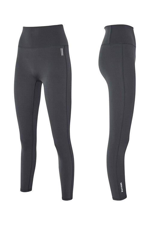 韩际新世界网上免税店-SKULLPIG-运动休闲-[SA5265] PLAX LEGGINGS Earlgray Charcoal_XS 紧身裤