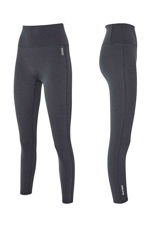 韩际新世界网上免税店-SKULLPIG-运动休闲-[SA5265] PLAX LEGGINGS Earlgray Charcoal_XL 紧身裤