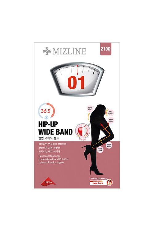 韩际新世界网上免税店-MIZLINE-时尚配饰-01 HIP-UP WIDE BAND 打底裤 (黑色)
