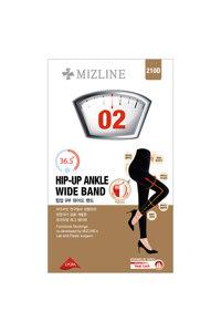 韩际新世界网上免税店-MIZLINE-服饰-02 HIP-UP WIDE BAND 9分裤 (黑色)