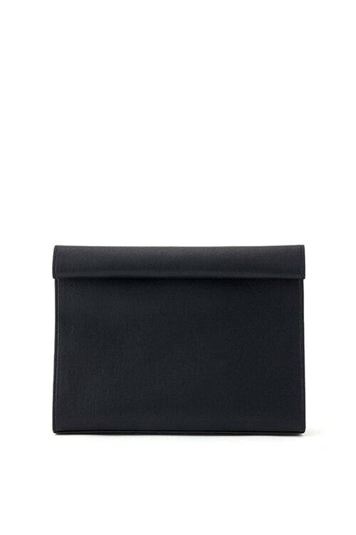 韩际新世界网上免税店-CHRISTINE PROJECT-女士箱包-SHOPPING BAG CLUTCH (BLACK PEPPER) 手拿包