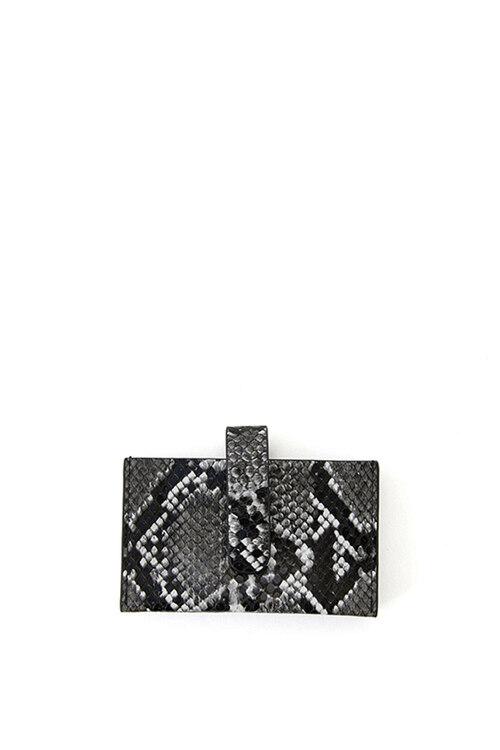韩际新世界网上免税店-CHRISTINE PROJECT-钱包-ACCORDION CARD WALLET (WHITE) 卡包