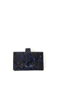 韩际新世界网上免税店-CHRISTINE PROJECT-钱包-ACCORDION CARD WALLET (NAVY) 卡包
