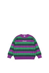 韩际新世界网上免税店-WONDER VISITOR-服饰-Logo Triple Stripe Knit 上衣