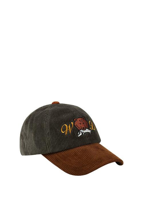 韩际新世界网上免税店-WONDER VISITOR-服饰-Bear salmon ball cap 帽子
