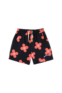 韩际新世界网上免税店-WONDER VISITOR-服饰-Pink flower pattern Shorts  [Navy] 短裤