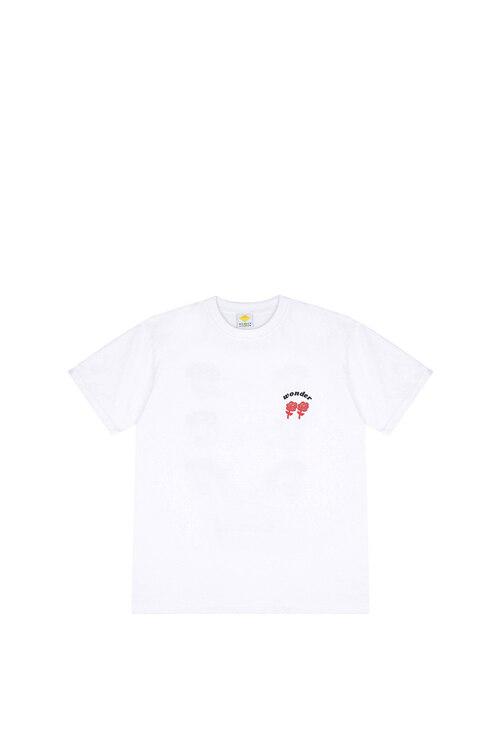 韩际新世界网上免税店-WONDER VISITOR-服饰-2021 Signature T shirts [White] M T恤