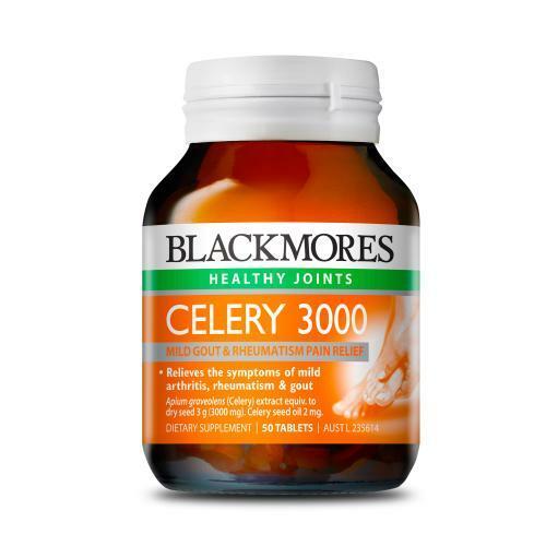 [유통기한22년6월/면세단독] 셀러리 3000 50캡슐 (관절염 류머티즘 통풍에 도