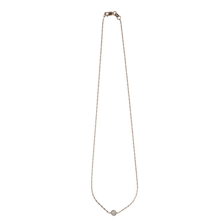 韩际新世界网上免税店-XTE-首饰-Arco_White_Necklace 项链