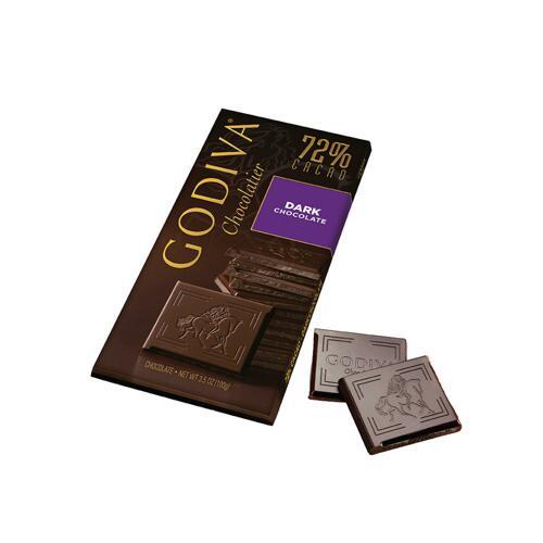 韩际新世界网上免税店-歌帝梵-CHOCOLATE_SWEETS-72% Dark Chocolate Tablet 100g 巧克力
