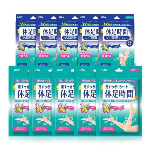 신세계인터넷면세점-휴족시간--[유통기한임박2021-10]cooling sheet 6p*5pack+sole sheet 4p*5pack