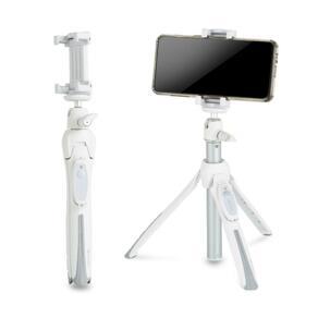 BK10 II 화이트 블루투스 삼각대 셀카봉(스마트폰,미러리스카메라 호환가능)