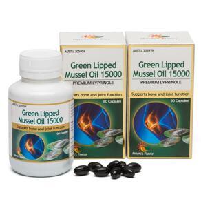 [유통기한2022-05]Green Lipped Mussel 15000mg 90x2