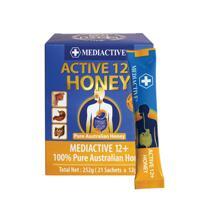 신세계인터넷면세점-닥터 내츄럴-ProteinPowder-메디엑티브12+ 허니 252g (12g*21포, 100% 호주 항균성 꿀)