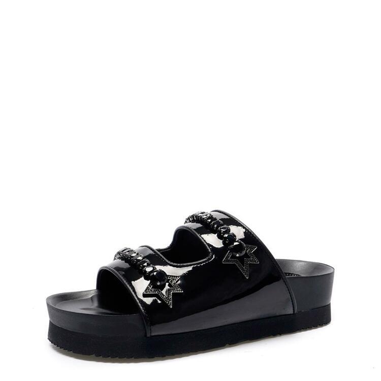 韩际新世界网上免税店-suecommabonnie-鞋-DG2AM21024BLK 375 (245)