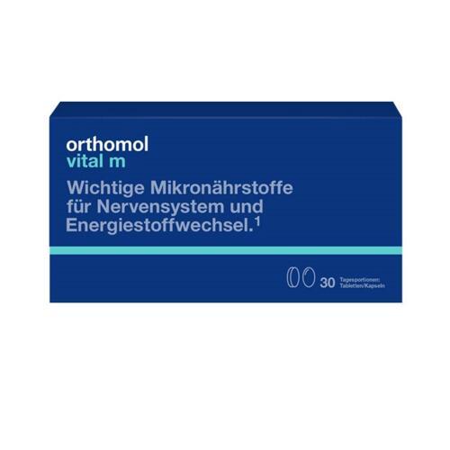 韩际新世界网上免税店-ORTHOMOL-VITAMIN-VITAL M TABLET CAPSULE TYPE (非液体的男性综合营养剂)