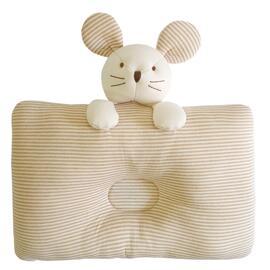 小老鼠有机棉婴儿枕头