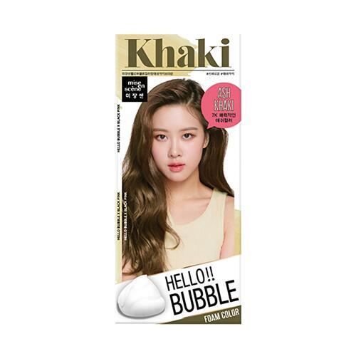 韩际新世界网上免税店-呂--HELLO BUBBLE 泡沫染发剂 7K ASH KHAKI BROWN 30G