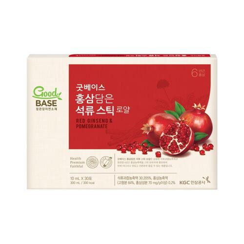 韩际新世界网上免税店-正官庄-GINSENG-红参石榴液 (10ml*30包)