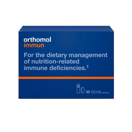 韩际新世界网上免税店-ORTHOMOL-VITAMIN-Orthomol Immun 30 IMMUN LIQUID+CAPSULE TYPE