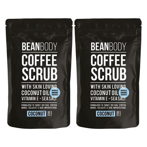 신세계인터넷면세점-빈 바디-Shower-Bath-COFFEE SCRUB COCONUT DUO 220g*2