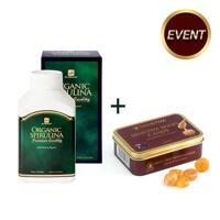韩际新世界网上免税店-自然博士-PROTEIN POWDER-Spirulina 500 + Honey Candy 75g
