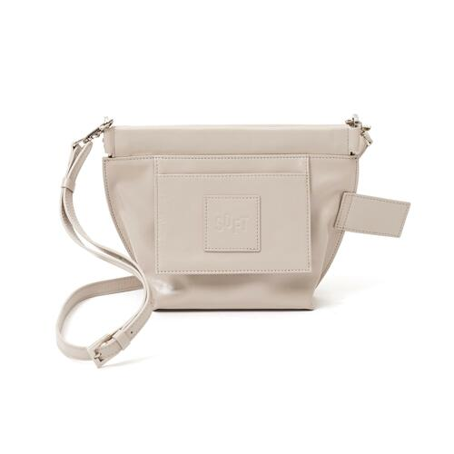 milk leather bag_creamy 单肩包