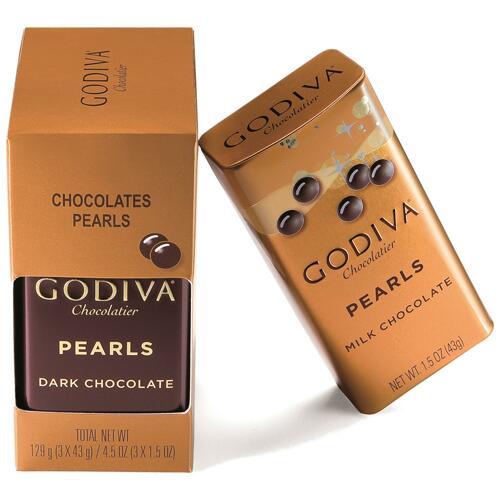 韩际新世界网上免税店-歌帝梵-CHOCOLATE_SWEETS-Chocolate Pearls Triopack 129g 巧克力
