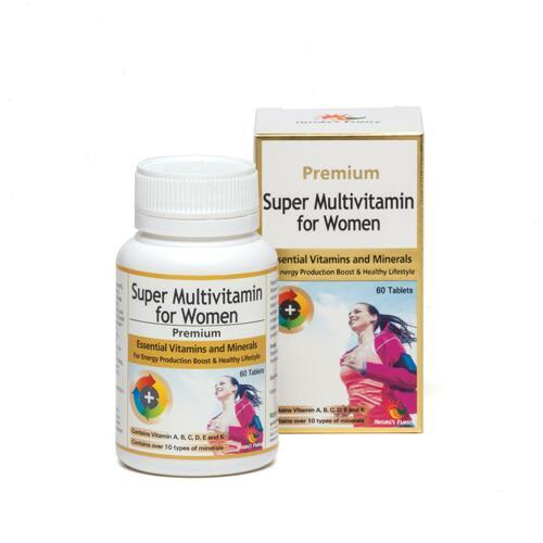韩际新世界网上免税店-NATURES FAMILY-VITAMIN-SUPER MULTIVITAMIN FOR WOMEN 女性综合维生素 60粒 x 1瓶