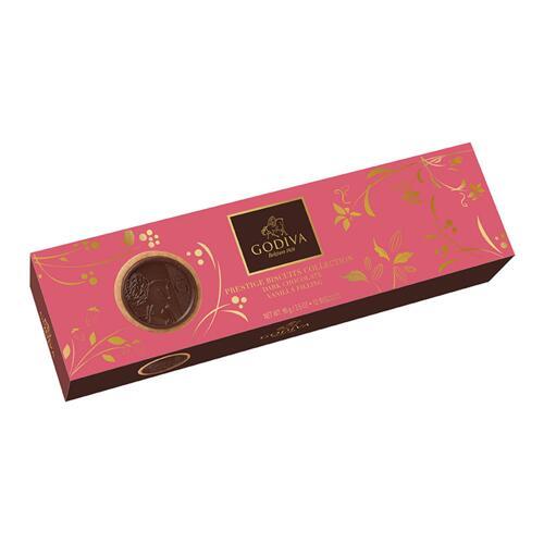 신세계인터넷면세점-고디바-CookieSnack-Lady Noir Biscuits (12 pieces) 95g
