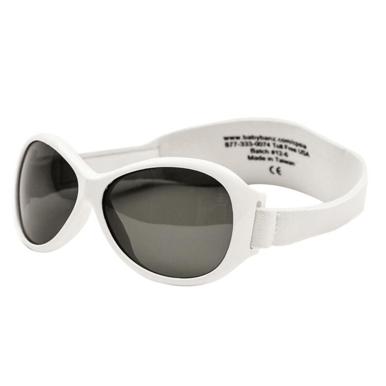 韩际新世界网上免税店-BABY BANZ-太阳镜眼镜-Retro Banz White (KIDS)