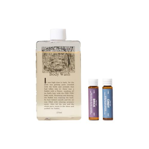 신세계인터넷면세점-피부피부-Shower-Bath-Brick&Cindy bodywash set (브릭신디 바디워시 세트)