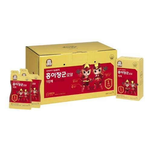 신세계인터넷면세점-정관장-Ginseng-홍이장군로얄1단계면역력쑥쑥(15ml*90포)