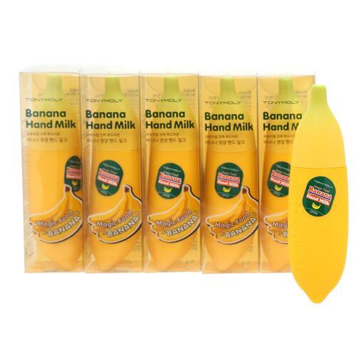 韩际新世界网上免税店-托尼魅力--神奇的食物香蕉丝滑护手霜 5件套装