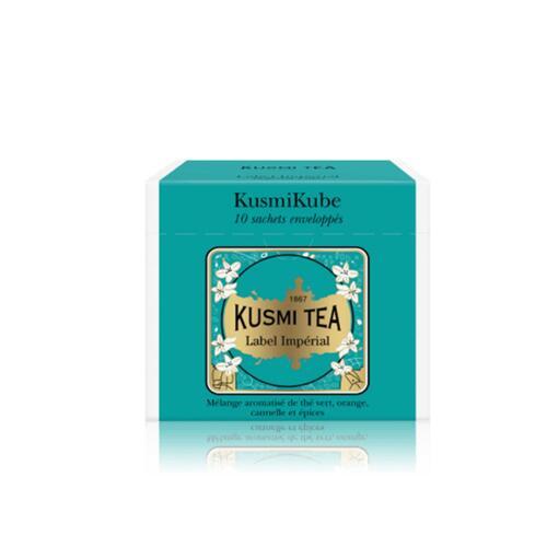 韩际新世界网上免税店-KUSMI TEA-TEA-IMPERIAL LABEL - 10 ENVELOPPED TEA BAGS RECHARGE - 22g 茶