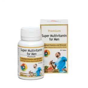 [유통기한2022-03]Super Multivitamin for Men 60
