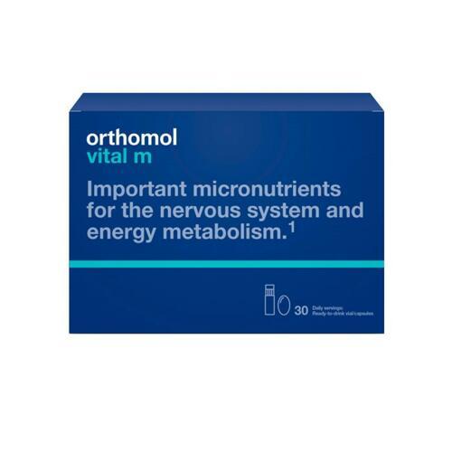 韩际新世界网上免税店-ORTHOMOL-VITAMIN-VITAL M LIQUID CAPSULE TYPE MULTI NUTRITION PILLS FOR MEN (液体男士综合营养素)