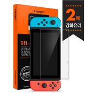 韩际新世界网上免税店-SPIGEN-SMART DEVICE ACC-Nintendo Switch  强化玻璃 GlastRslim 液晶保护膜