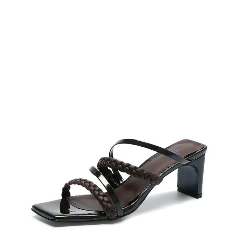 韩际新世界网上免税店-suecommabonnie-鞋-DG2AM21016BRN 375 (245)