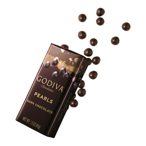 韩际新世界网上免税店-歌帝梵-CHOCOLATE_SWEETS-Dark Chocolate Pearls 43g 巧克力
