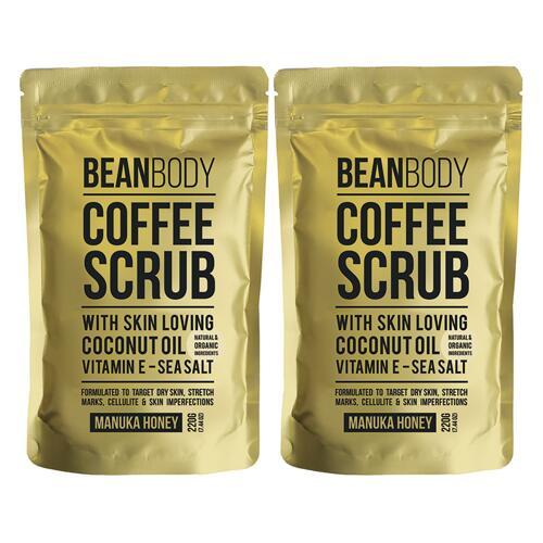 신세계인터넷면세점-빈 바디-Shower-Bath-COFFEE SCRUB MANUKA HONEY DUO 220g*2
