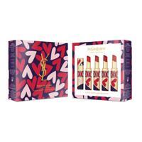 韩际新世界网上免税店-伊夫圣罗兰--「圆管」红唇啵普系列套装 3.2g*4