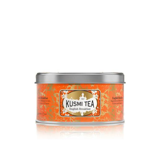 韩际新世界网上免税店-KUSMI TEA-TEA-ENGLISH BREAKFAST - METAL TIN 125g 茶