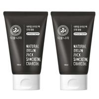 신세계인터넷면세점-식물나라-Face Masks & Treatments-내추럴오리진팩산청참숯(대용량)*2