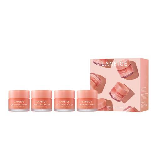 韩际新世界网上免税店-兰芝--保湿修护唇膜_西柚味 20g 4件套装