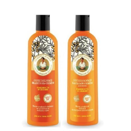 韩际新世界网上免税店-AGAFIA`S RECIPES--AGAFIA OBLEPHIKA HAIR SET 洗发套装