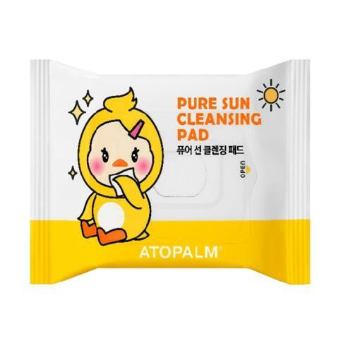 韩际新世界网上免税店-爱多康--NEW ATOPALM PURE SUN CLEANSING PADS 儿童卸防晒霜棉片 30片(2020)